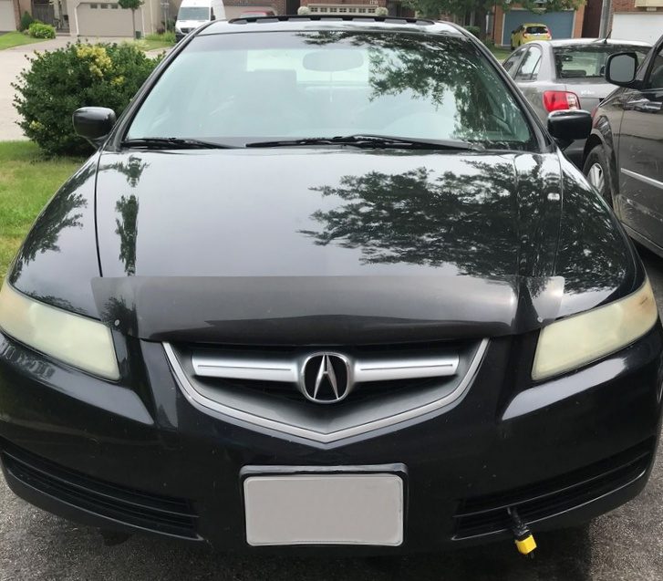 Acura TL (2004-2005) FormFit Hood Protector