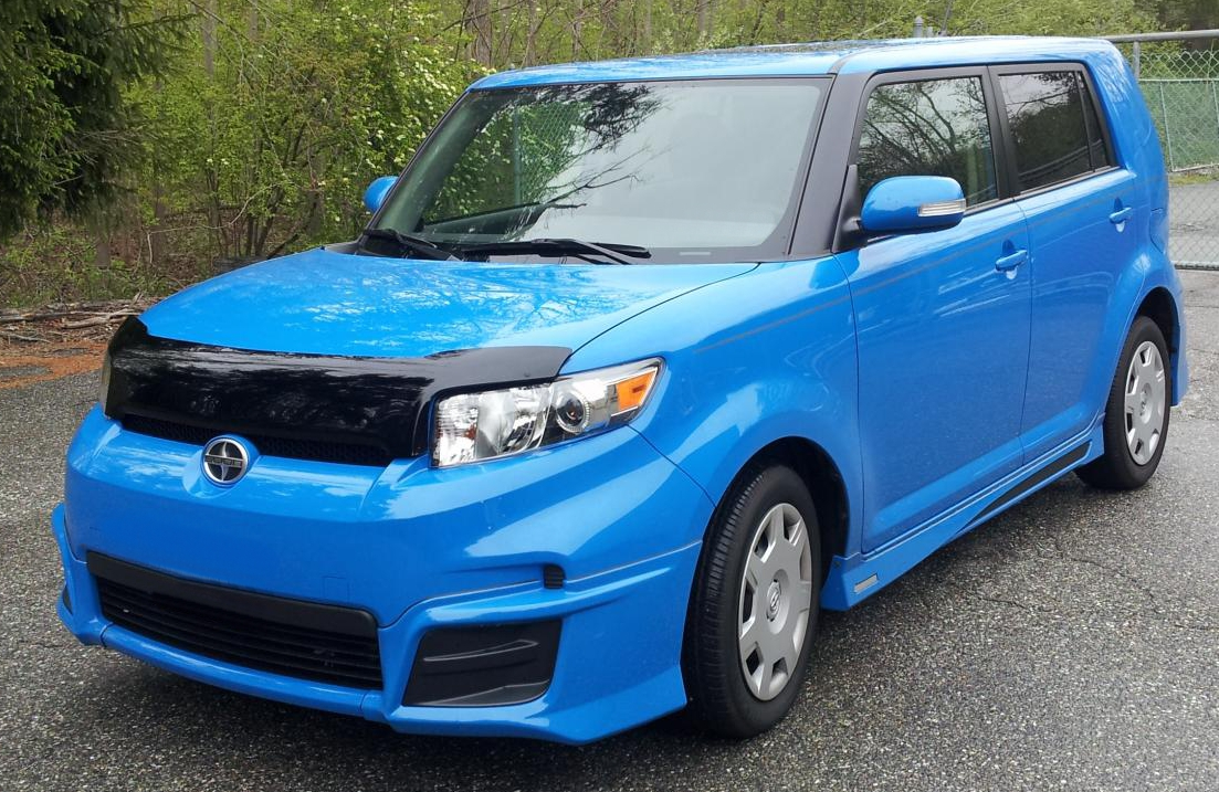 scion xb 2010 2015 formfit hood protector. Black Bedroom Furniture Sets. Home Design Ideas