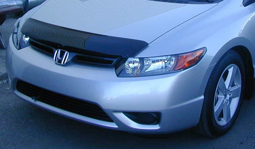 honda civic 2 door 2006 2011 formfit hood protector. Black Bedroom Furniture Sets. Home Design Ideas