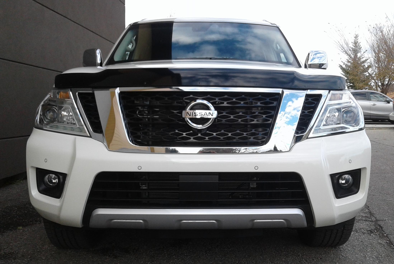 Nissan Armada 2017 Up Formfit Hood Protector