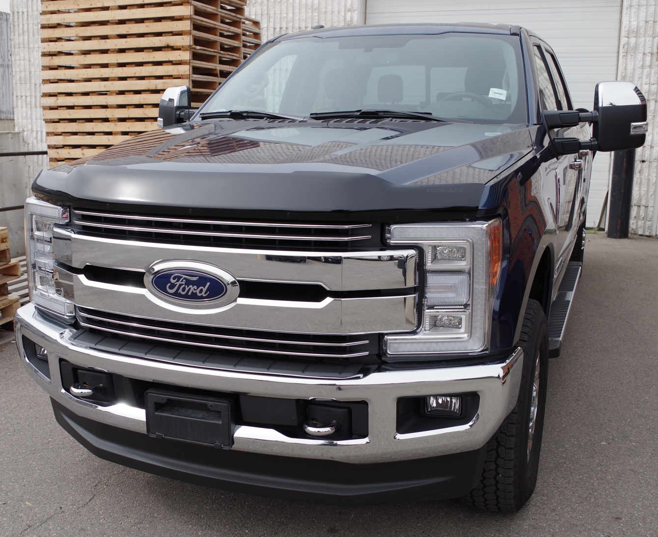 Ford Super Duty F250-F350 (2017-Up) FormFit Hood Protector