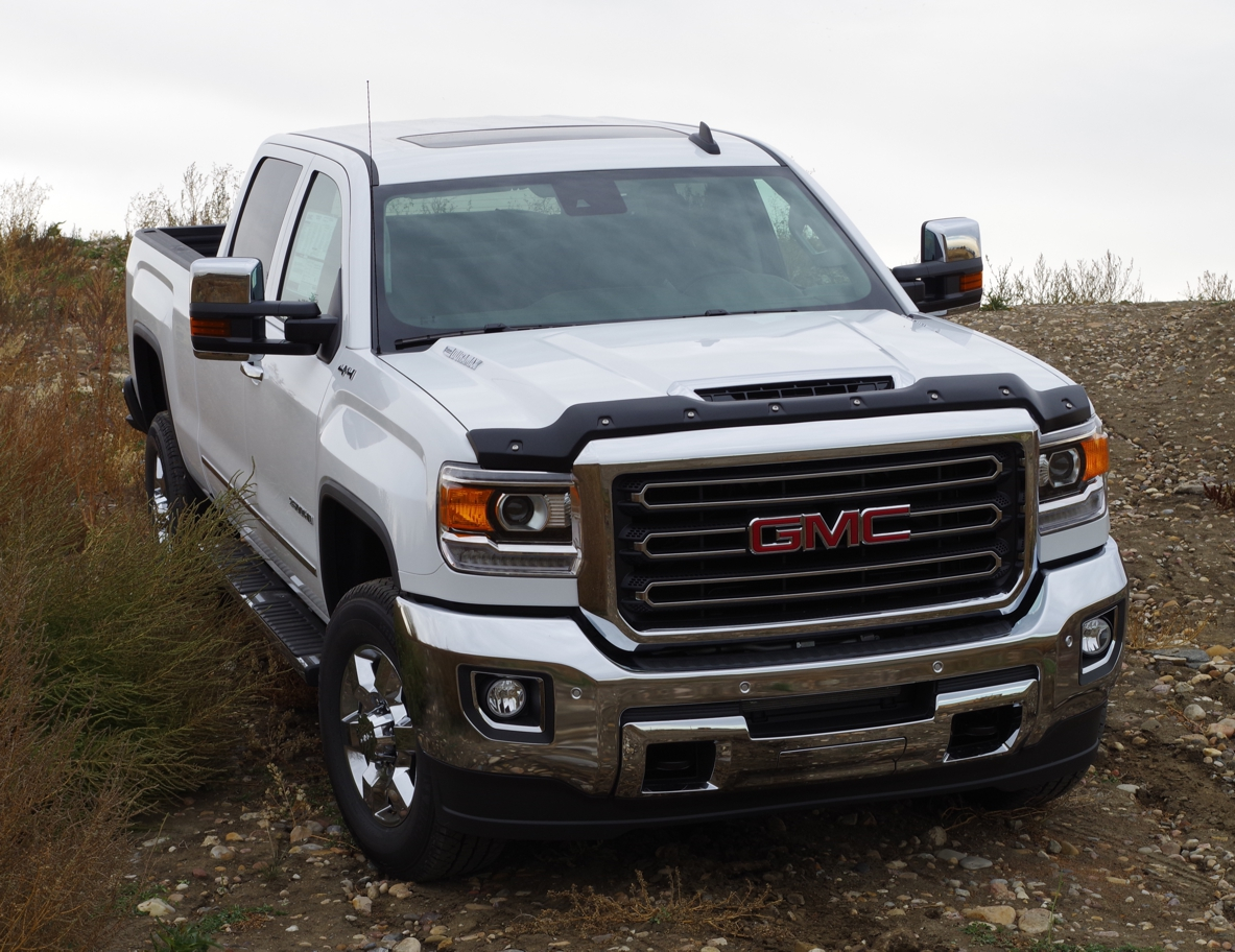 gmc sierra hd 2500 3500 diesel 2017 up textured tough guard. Black Bedroom Furniture Sets. Home Design Ideas