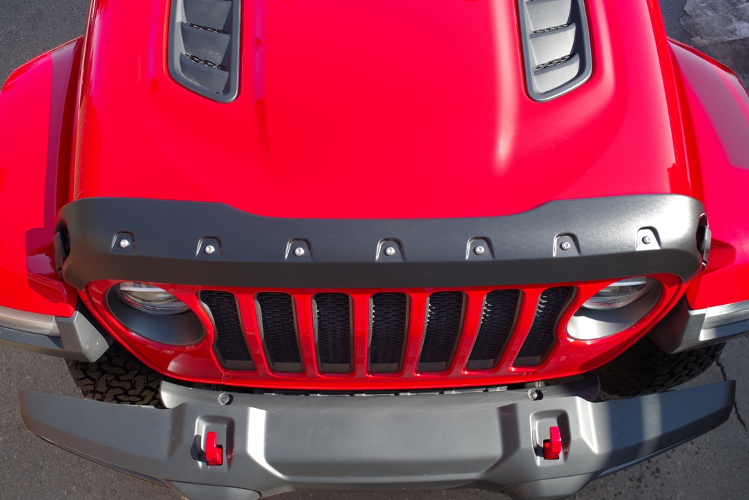 Jeep Wrangler Jl 2018 Up Smooth Tough Formfit Guard