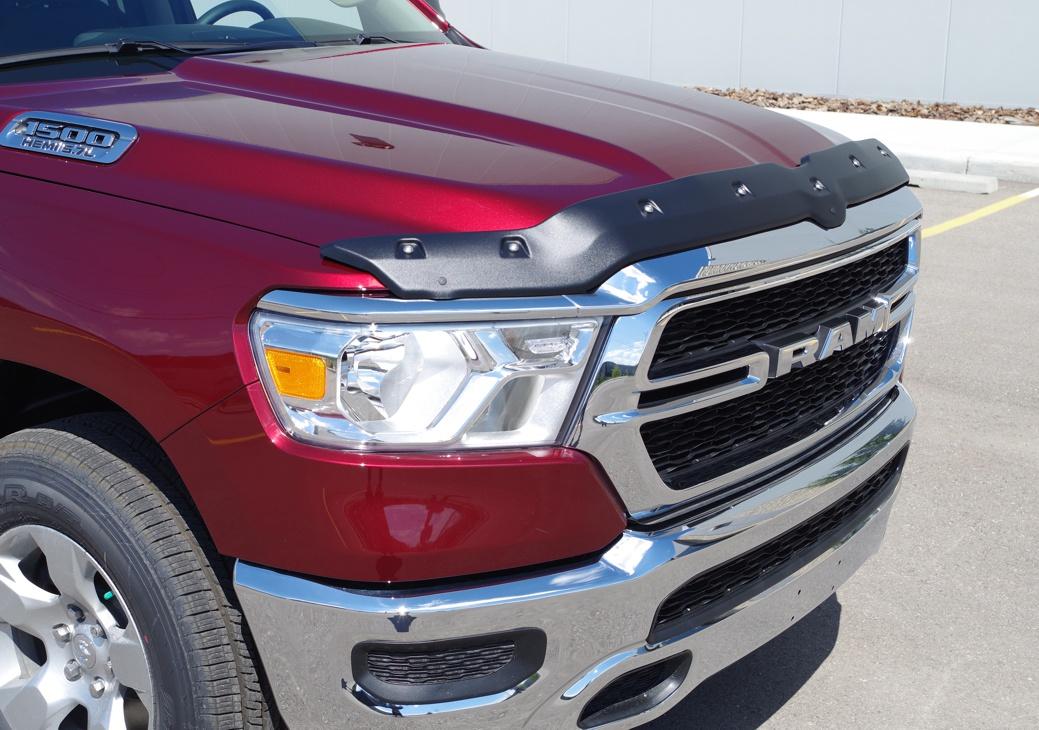 Dodge Ram Up Textured Tough Guard Hood Protector Tg R C